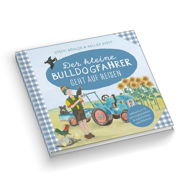 """Kinderbuch """"Der kleine Bulldogfahrer geht auf Reisen"""""""
